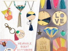 Craftivity Aroma Jewelry Pretty Pendants and Woodn't You