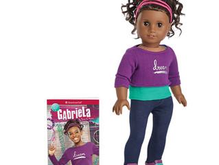 American Girl Gabriela  Girl of the Year 2017—Doll & Book