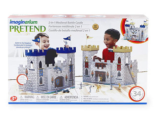 Imaginarium Pretend 2-in-1 Medieval Battle Castle