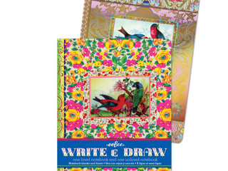 eeBoo Write and Draw notebooks