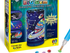 Creativity for Kids Big Gem Diamond Painting Light - Create Your Own Night Light