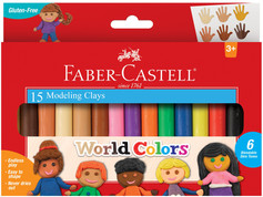 Faber-Castell World Colors Modeling Clay