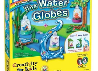 Creativity for Kids Wee Water Globes