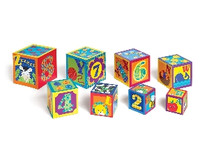 Early Years ABC & 123 Stacking Cubes