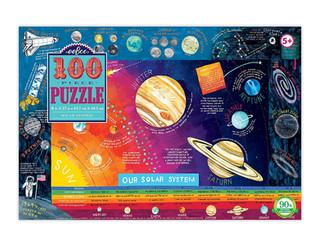 eeBoo Solar System 100-Piece Puzzle