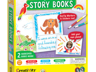 Creativity for Kids Sticker Create Your Own Story Books