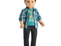 """Logan Everett, First American Girl 18"""" Boy Doll"""