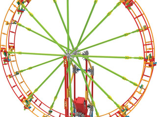 Knex Revolution Ferris Wheel