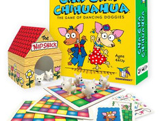 Gamewright Cha-Cha Chihuahua, The Game of Dancing Doggies