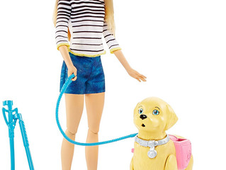 Mattel Walk & Potty Pup Barbie