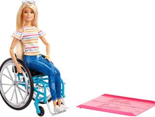 Mattel  Barbie Fashionistas in Wheel Chairs #132 & #133