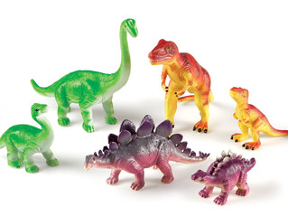 Learning Resources Jumbo Dinosaurs Mommas & Babies