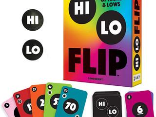 Gamewright Hi Lo Flip Game