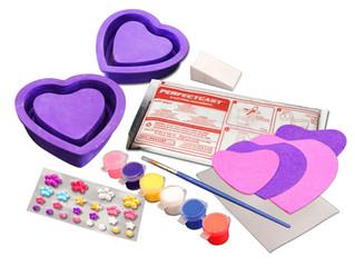 Skullduggery Heart Shaped Keepsake Box Kit