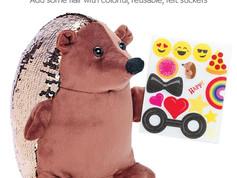 Creativity for Kids Sequin Pets, Happy the Hedgehog