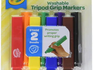 Crayola Washable Tripod Grip Markers