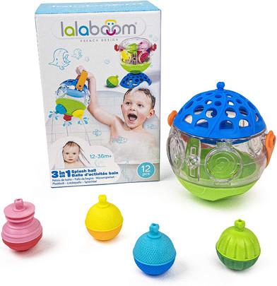 Lalaboom 3-in-1 Splash Ball Bath Set