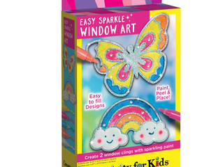 Creativity for Kids Easy Sparkle Window Art