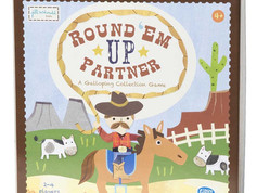 C. R. Gibson Round 'Em Up Partner Board Game