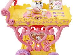 Disney Princess Bell Musical Tea Party Cart