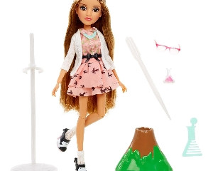 Project Mc2 Doll Adrienne and Volcano Experiment