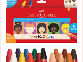 Faber-Castell World Colors Beeswax Crayons