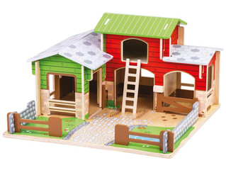 Bigjigs Toys Cobblestone Farm