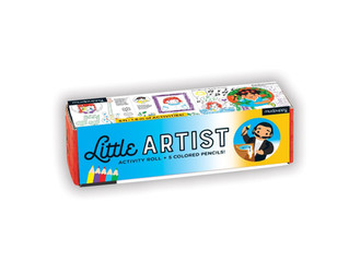 Mudpuppy Little Artist Activity Roll