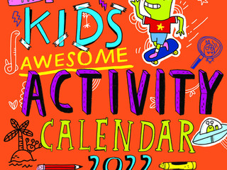 Workman Kid's Awesome Activity Calendar 2022