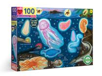 eeBoo Bioluminescent 100-piece Puzzle