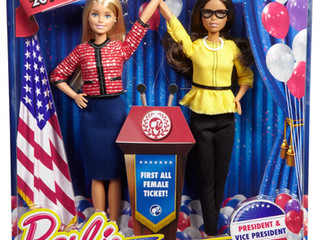 Mattel Barbie First All Female Ticket