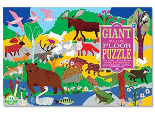 eeBoo Woodland Animal Giant Really Big Floor Puzzle