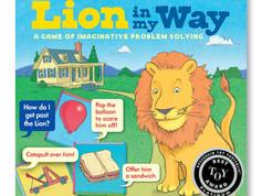 eeBoo Lion in My Way Game