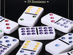 Spinmaster Deluxe Double 6 DominoesSpinmaster $28 classic looking dominos in a wooden storage box