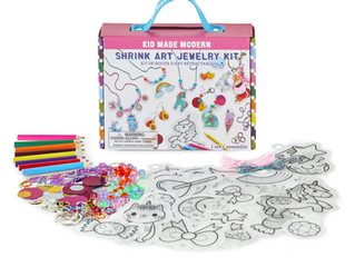 Kid Made Modern Shrink Art Jewelry Kit
