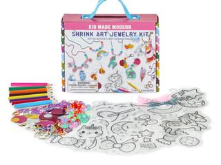 Kid Made Modern Shrink Art Jewelry Kit