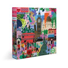 eeBoo London Life or Venice Open Market Puzzles 1000 Pieces