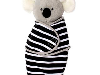 Manhattan Toy Swaddle Baby Koala Bear