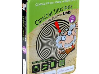 The Crazy Scientists Lab Optical Illusions