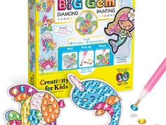Creativity for Kids Big Gems Diamond Painting Sea Friends