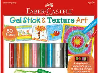 Faber Castell Gel Sticks and Texture Art