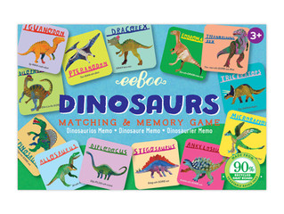 eeBoo Dinosaurs Little Matching and Memory Game