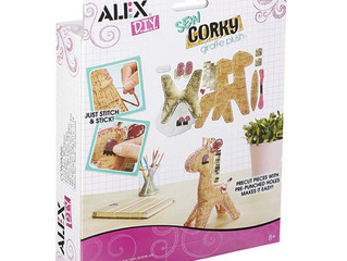 ALEX DIY Sew Corky Giraffe Plush Kit