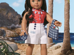 Nanea Mitchell, American Girl Be Forever 2017 Doll  & Book