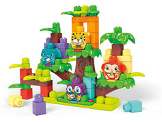 Mega Bloks Jungle Treehouse Band