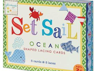 C.R. Gibson Set Sail Lacing Cards