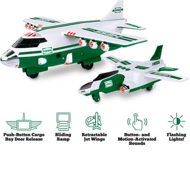 Hess Cargo Plane and Jet