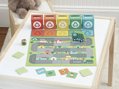 Petit Collage Rush to Recycle Game