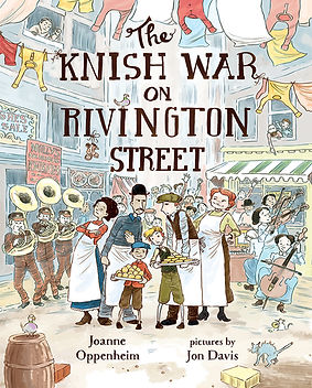 The Knish War On Rivington Street cover
