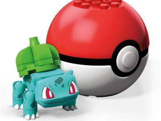 MegaConstrux Pokemon Bulbasaur Figure